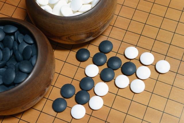 憧れの囲碁